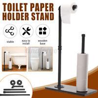 Toilettenpapierhalter Toilettenrollenhalter WC Bürste Ständer Garnitur Industrie