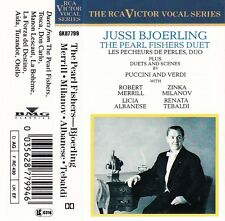 Jussi Bjoerling 'THE PEARL FISHERS DUET'..Plus Audio Cassette - EU RCA Victor