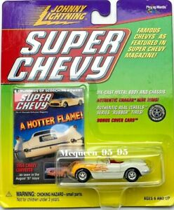 JOHNNY LIGHTNING SUPER CHEVY A HOTTER FLAME 1954 CHEVY CORVETTE