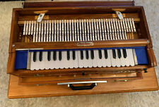More details for bina harmonium 9 scale 3 reeds used
