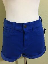 Hollister women's shorts W 28 size 7 blue