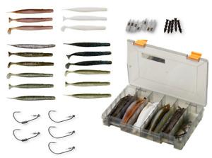 Savage Gear Gravity Stick Lure Kit 30+17pcs Fishing