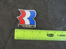 Old mid school NOS Robinson racing star decal seat post frame mast handlebar bmx