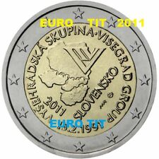 2 €    SLOVAQUIE   COMMEMORATIVE  2011    1   X  PIECE   VISEGRAD     disponible