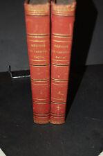 Mémoires du CardinalPacca Trad. L'abbé Jamet 2 tomes 1832