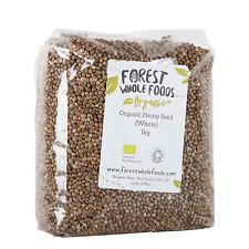 Organic Whole Hemp Seed 1kg