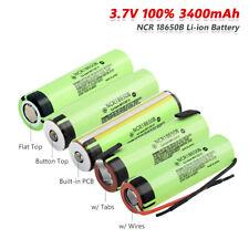 Ncr18650b Li-ion Batería Recargable 3400mah capacidad real 3.7v Para Antorcha De Juguete