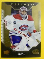 2019-20 Upper Deck Trilogy #35 Carey Price Montreal Canadiens