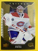 2019-20 Upper Deck Trilogy #35 Carey Price Montreal Canadiens