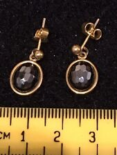 Gold And Black Coloured Earings. B017