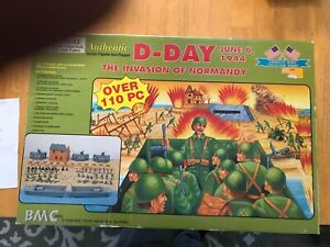 BMC 54mm WWII June 6th, 1944 D-Day Playset - never opened still sealed