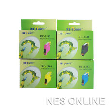 PH 138 High Yield Set of 4x Ink Cart for Epson WF7010/WF7510/WF7520/WF840/WF845