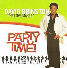 David Brinston - Party Time -  New Factory Sealed CD