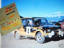 "DECAL CALCA 1/43 SEAT 124 Gr.5 ""BANKUNION"" A.MARCOS RALLY CATALUNYA 1979"