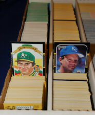1987 1988 1989 1990 1991 1992 Donruss Baseball Cards With Stars Pick 35 NM/MT