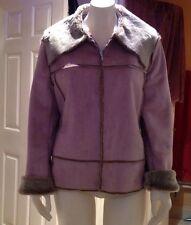 Ladies Faux Fur Pink Jasper Conran Jacket
