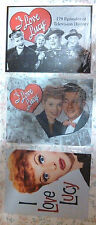 "3 NEW Tin I Love Lucy Signs - Lucille Ball 16"" by 12 1/2"" Americana Nostalgia"