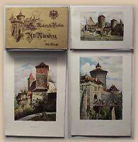 Wiegk Malerische Partien aus Alt Nürnberg um 1920 Album Bildband Bayern xy