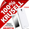 New Krusell Clear FrostCover Hard Case For Samsung i9500 Galaxy S4 Cover Shell
