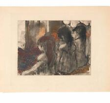 Edgar Degas Original Etching Mimes de Courtesanes II Limited 1935 Rare