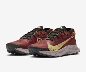 Nike PEGASUS TRAIL 2 UK 11 EU 46 Running Claystone Red CK4305-600