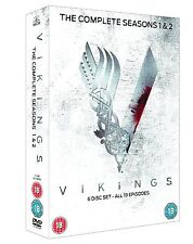 Vikings Complete Series Collection 1-2 DVD Season 1 and 2 Original UK Releas New