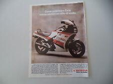 advertising Pubblicità 1986 MOTO HONDA CBX 750 F-II F2 F II