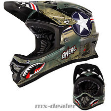 ONeal Backflip KINDER MTB DH BMX RL2 Wingman grau mountainbike Helm freeride