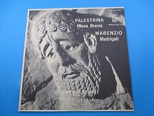 Palestrina Missa Brevis Marenzio Madrigali Le Quatuor Album LP Vinyl JAS 19004