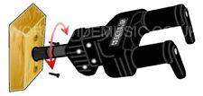 HERCULES AUTOMATICO MANICO CHITARRA Staffa per montaggio a parete tutti i tipi di chitarra GSP38WB