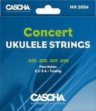 CASCHA HH 2054 Concert Saiten für Sopran Ukulele