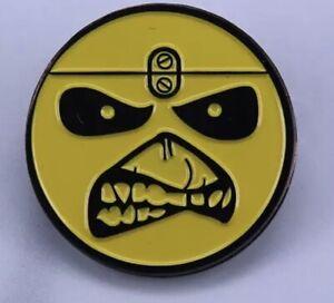 Iron Maiden Eddie Metal Enamel Pin Badge Rock Metal Bruce Dickinson