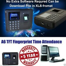 NEW A6 Biometric Fingerprint Based Time & Attendance  Machine USB Plug