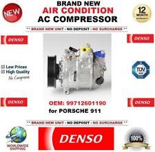 DENSO ARIA CONDIZIONATA COMPRESSORE AC ORIGINALE 99712601190 PER PORSCHE 911