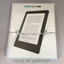 Kobo Aura H2O Waterproof eReader Wi-Fi 6.8'' 4 GB Black Touchscreen From Japan