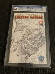 The Invincible Iron Man #1 Graded CGC 9.8 White Page Variant