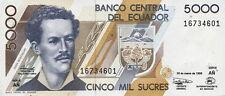 Ecuador 5.000 sucres 1999 PICK 128c (1)