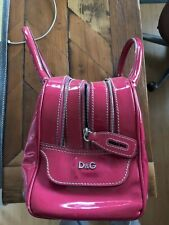 D&G DOLCE & GABBANA LILY MULTI-ZIP BAG - PINK