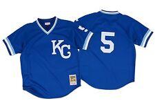 George Brett 1989 Kansas City Royals Mitchell & Ness BP Jersey XL