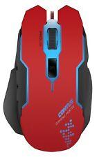 SPEEDLINK Contus Red Gaming Mouse Kabelgebunden 3200dpi USB Maus K2/F5-3759