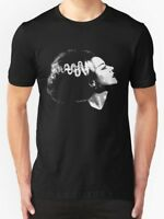BRIDE OF FRANKENSTEIN T SHIRT CLASSIC CULT HORROR MOVIE FILM HALLOWEEN