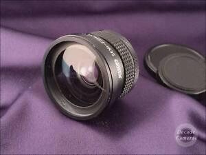 53mm Screw Jessop Semi Fisheye 0.42x Wide Angle Adapter - VGC - 098
