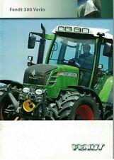 Fendt 300 Vario 309 310 311 312 Tractor  Brochure / Leaflet 2007 6142F