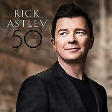 50 [Digipak] * by Rick Astley (CD, Oct-2016, BMG (distributor))