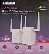 EDIMAX GEMINI RE11 AC1200 Home il roaming Wi-Fi EXTENDER ACCESS POINT UPGRADE KIT