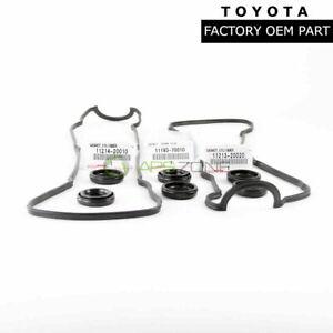 GENUINE TOYOTA CAMRY TACOMA LEXUS IS250 GASKET SET OEM 11213-62020 11193-70010