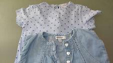 Etat neuf ! Robe en Jeans + combinaison, taille 12 - 18 mois 3 Pommes