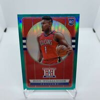 2019-20 Panini Chronicles HOMETOWN HEROES - ZION WILLIAMSON ROOKIE #552 RC GREEN