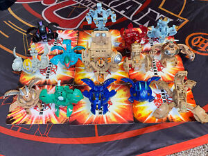 Bakugan Battle Brawlers Lot of 14 Figures Bundle Rare!