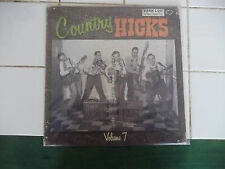 ROCKABILLY COUNTRY HICKS VOLUME 7